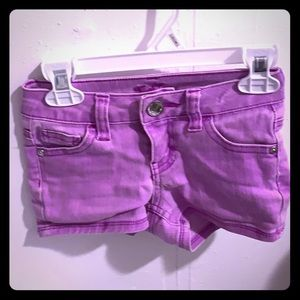 Purple Justice Shorts size 7S